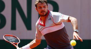Wawrinka pasa a tercera ronda y Mónaco cae ante Gabashvili