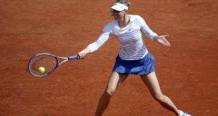 Sharapova supera la segunda ronda y Halep cae por sorpresa