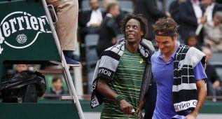 Nishikori, cuarto del mundo, y Federer-Monfils, suspendido