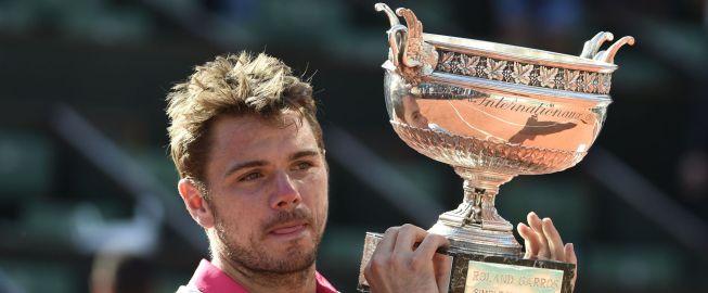 Wawrinka sella la maldición de Novak Djokovic en París