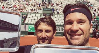 Ferrero y Moyá conquistan juntos el torneo de leyendas
