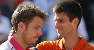 """Djokovic: """"Stan es un campeón, le respeto y merece este título"""""""