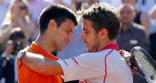 """Wawrinka a Djokovic: """"Algún día lo ganarás, te lo mereces"""""""