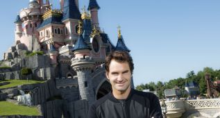 Roger Federer cambia Roland Garros por Disneyland París