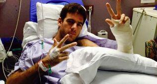 Del Potro renuncia a participar en Wimbledon por lesión