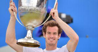 Murray gana por 4ª vez, en el mismo día de las semifinales