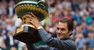 Federer es el amo de Halle