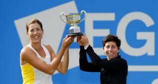 Muguruza y Suárez conquistan su segundo título en dobles
