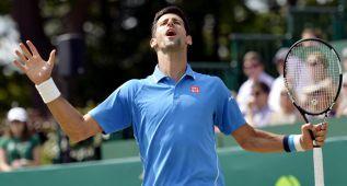 Djokovic pierde ante Alexander Zverev en una exhibición