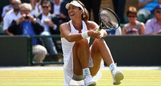 Muguruza hace historia: semifinal ante Agnieszka Radwanska