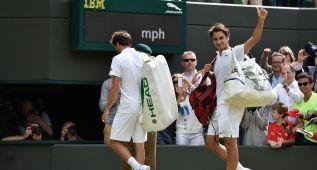 Federer y Murray se verán las caras en las semifinales