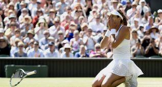 Muguruza hace historia y jugará la final ante Serena Williams