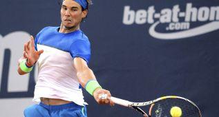 Nadal se mete en semifinales en Hamburgo tras arrollar a Cuevas