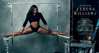 Serena posa en el magazine de moda de 'The New York Times'
