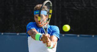 Rafa Nadal comienza su suma con victoria ante Stakhovsky