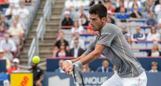 Djokovic, a cuartos en Montreal tras barrer a Sock
