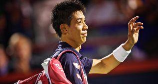 Nishikori renuncia a Cincinnati por molestias en la cadera