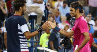 Feliciano no puede con Federer