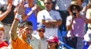 Djokovic ganó a Dolgopolov y va a por el 'Golden Masters'