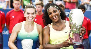 Serena ejerce de número uno y se impone en la final a Halep