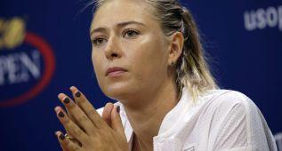 Sharapova se pierde el US Open por una lesión en la pierna