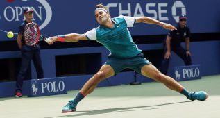 Estreno exprés de Federer ante Mayer, Murray bate a Kyrgios