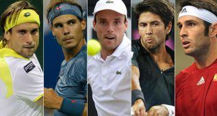 Nadal y Ferrer lideran el equipo de Copa Davis ante Dinamarca