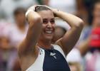 Pennetta gana a Halep y llega a su 1ª final de Grand Slam