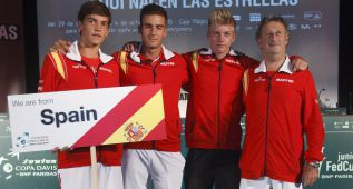 España conoce rivales en la Davis y Copa Federación júnior