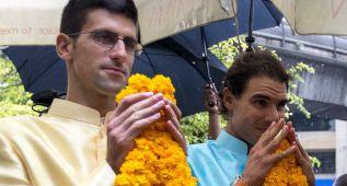 Nadal y Djokovic, en Tailandia con su cuestionado presidente