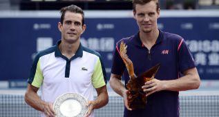 Berdych gana a García López en la final del torneo de Shenzhen