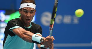Rafa Nadal avanza en Pekín y hoy le mide Vasek Pospisil