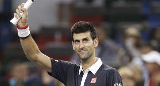 Djokovic sigue arrollador y elimina al eslovaco Klizan