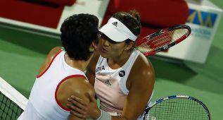 Muguruza y Suárez jugarán el Masters de Singapur en dobles