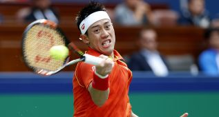Una lesión complica la presencia de Nishikori en el Masters