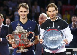 Federer no permite a Nadal levantarse en Basilea