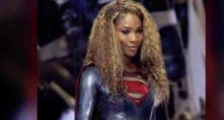 Serena Williams se disfraza de heroína y atrapa a un ladrón