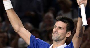 Djokovic cumple ante Berdych y avanza a semifinales