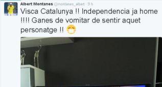 "Montañes: ""¡Visca Catalunya! ¡Independencia ja home!"""