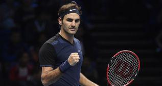 Federer alecciona a Berdych (6-4 y 6-2) y llega a Djokovic