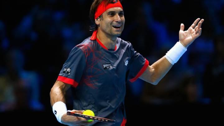 Ocho dobles faltas condenan a David Ferrer ante Andy Murray