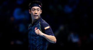 Nishikori supera a Berdych y logra su primera victoria