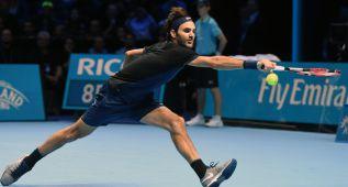 Roger Federer empequeñece a Djokovic y ya es semifinalista