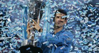 Djokovic, rey absoluto y maestro por cuarto año consecutivo