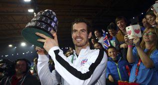 """En Reino Unido ensalzan a Murray: """"Juego, set e historia"""""""