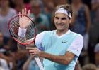 Federer acaba con Dimitrov y ya está en semifinales