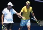 "Toni Nadal: ""La intranquilidad se apoderó ayer de Rafa"""