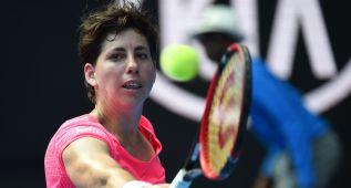 Carla Suárez gana a Sakkari y ya está en dieciseisavos