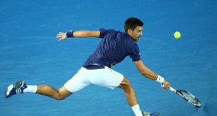 Djokovic avanza a octavos de final tras ganar a Andreas Seppi