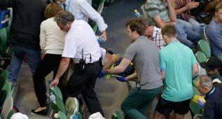 El entrenador de Ivanovic sufre colapso en la grada de Australia